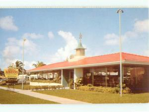 Vintage Post Card Howard Johnson Restaurant Hotel   # 4204