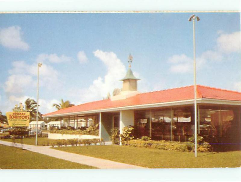 Vintage Post Card Howard Johnson Restaurant Hotel   # 4204