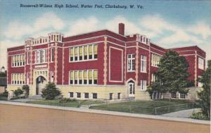 West Virginia Clarksburg Roosevelt-Wilson High School Nutter Fort Curteich