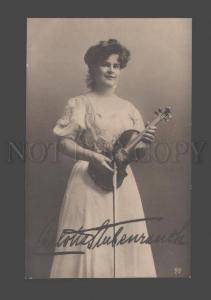 097302 Carlotta STUBENRAUCH Virtuoso Musician VIOLINIST Photo