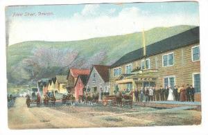 Front Street, N.C. Co., Horse Carriages, Dawson, Yukon, Canada, 1900-1910s