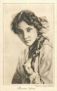 Bessie Love American motion picture actress Cinema Chat Supplement early card
