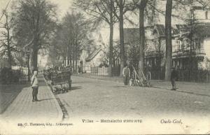 belgium, OUDE-GOD, Villas, Mechelsche Steenweg, DOG CARTS (1908) Stamp