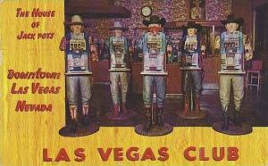 Nevada Las Vegas The House Of Jack Pots Downtown Las Vegas Club