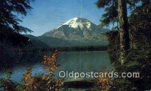 Spirit Lake & Mount St Helens - Mt St Helens, Oregon