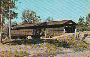 Covered Bridge Among The Old Timers Vermont
