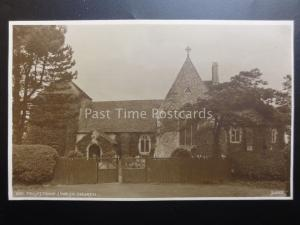 Suffolk FELIXSTOWE Parish Church of St Peter & St Pauls c1913 RP by Judges 1501
