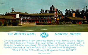 Oregon Florence The Drifters Motel