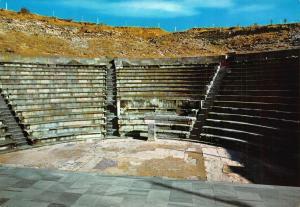 Turkey Pergamum THe THeatre of Aesculapium Postcard