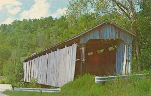 St Mary's of the Rock Covered Bridge on Pipe Creek - Franklin County IN, Indiana
