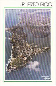 Puerto Rico Satellite View of San Juan