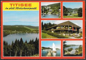 Germany, Titisee (Baden-Württemberg), multiview, mailed in 1988