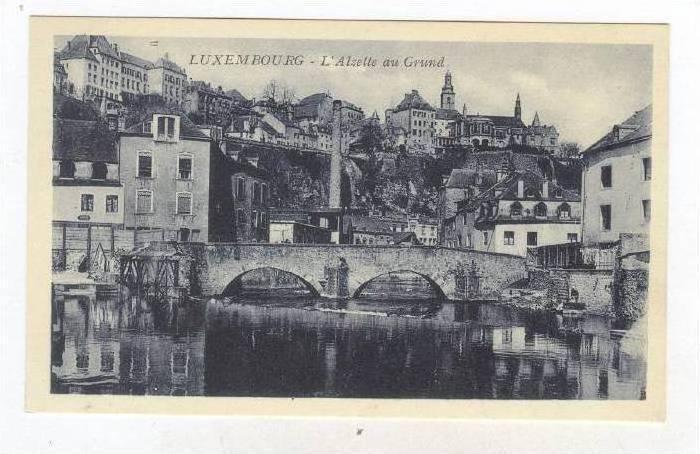 L'Alzette Au Grund, Luxembourg, 1900-1910s