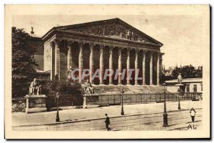 Old Postcard Paris Chamber of Deputies
