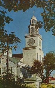 Nantucket, Mass, MA, South Tower, Orange Street, Chrome Vintage Postcard g9111