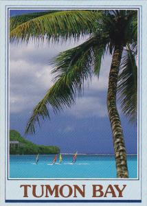 Guam Tumon Bay Sailing With The Wind