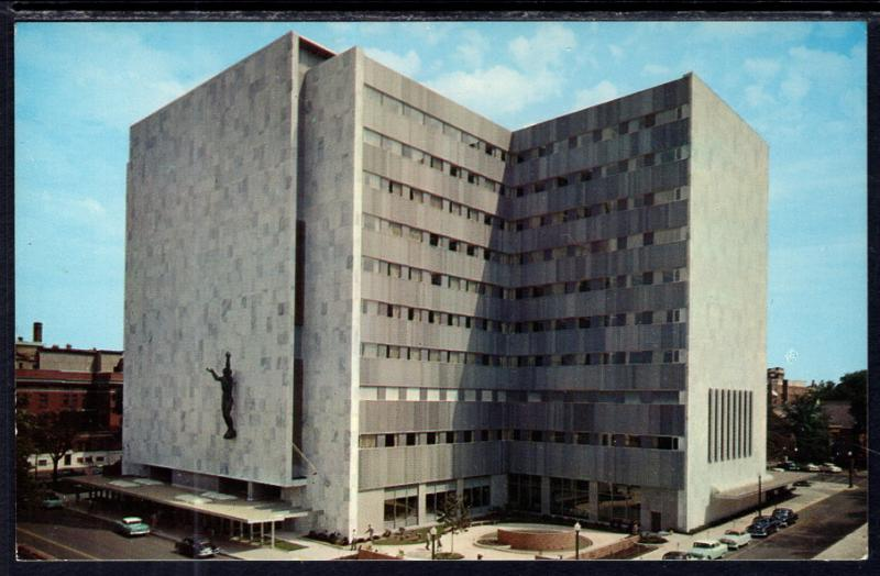 Mayo Clinic,Mayo Building,Rochester,MN / HipPostcard