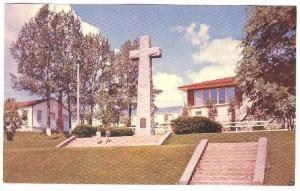 Jaques Cartier Cross, Gaspe, Quebec, Canada, 40-60s