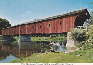 Covered Bridge, Kitchener , Ontario , Canada , 60-70s