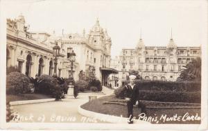 RP: Back of Casino , & Hotel de Paris , MONTE CARLO , 00-10s