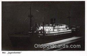 MS Jagersfontein Ship Unused