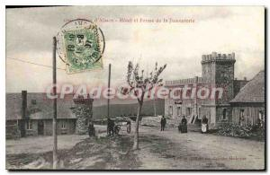 Old Postcard Ballon d'Alsace Hotel and ferine of Jumenterie