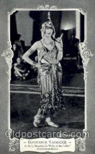 Constance Talmadge, Silent Movie Star Postcard Postcards Unused