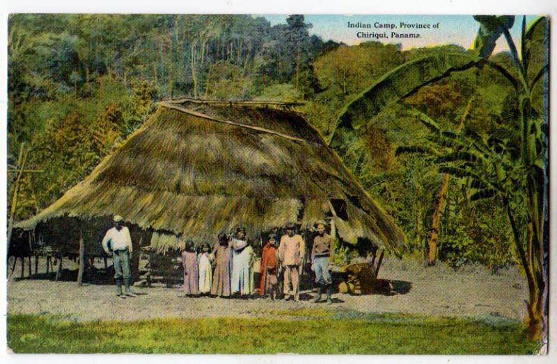 Indian Camp, Province of Chiriqui Panama