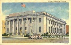 Hamilton, OH USA Post Office Unused