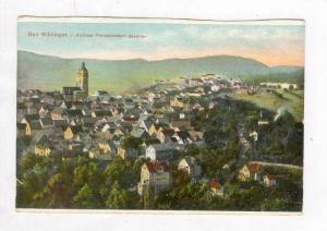 Bad Wildungen v. Schloss Friedrichstein Gesehen, Bad Wildungen (Hesse), Germa...