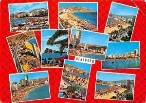 Spain Benidorm multiviews Playa Beach Strand Promenade General view
