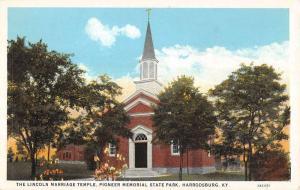 pioneer memorial state park harrodsburg kentucky L4703 antique postcard