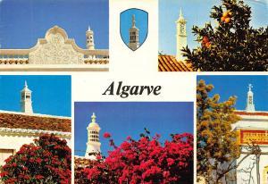 Portugal Algarve Church Towers Tours Postcard