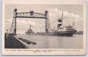 S. S. Lemoyne Worlds Largest Carrier, 1926 - 1969