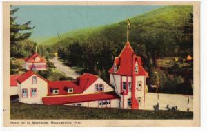 Hotel de la Montagne , ROUTHERVILLE , Quebec , Canada , 30-40s
