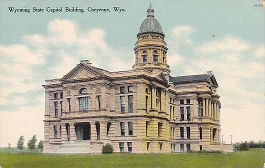 Wyoming State Capitol Building, Cheyenne, Wyoming, 00-10s