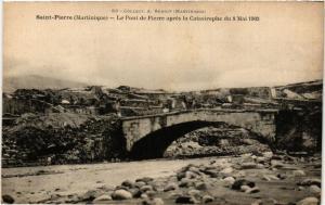 CPA Martinique. Saint Pierre. Le Pont de Pierre MADAGASCAR (625324)