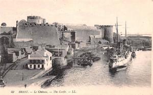 Brest France La Chateau, The Castle Brest La Chateau, The Castle
