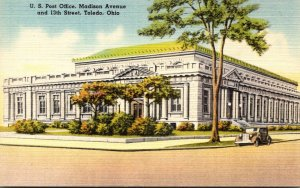 Ohio Toledo Post Office Madison Avenue and 13th Street