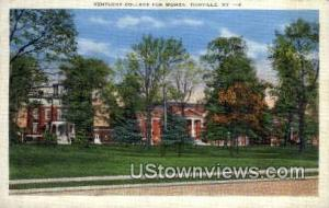Kentucky College for Women Danville KY Unused
