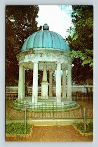 Nashville TN, Tomb Of The Hermitage, Andrew Jackson, Chrome Tennessee Postcard