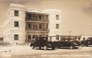 RP; MATAMOROS, Tamaulipas, Mexico; Hotel San Antonio,1950s