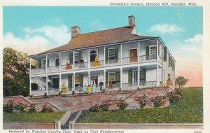 NATCHEZ, Mississippi, 1910-30s; Connelly's Tavern, Ellicotts Hill