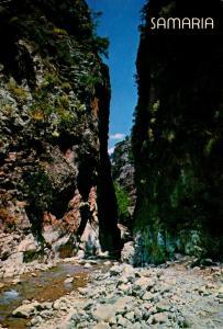 Greece Crete The Ravine Of Samaria 1984