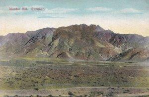 Murdar Hill Summer Quetta Pakistan Old Indian Postcard
