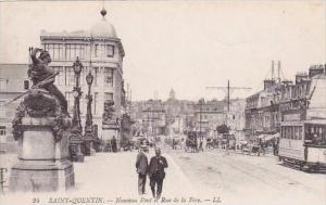 France Saint Quentin Nouveau Pont et Rue de la Fere