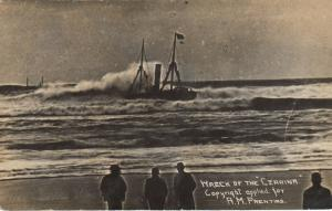 RP: MARSHFIELD  , Oregon , 1910 ; Shipwreck of CZARINA #6