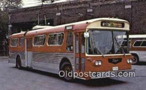Prototype Western Flyer Trolley Bus No. 9020, Toronto, Ontario Trains, Railro...