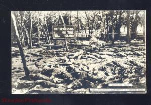 RPPC ST. AUGUSTINE FLORIDA ALLIGATOR PARK FARM VINTAGE REAL
