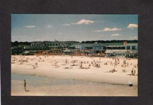 ME Amusement Park Beach Roller Skating Rink Old Orchard Beach Maine Postcard